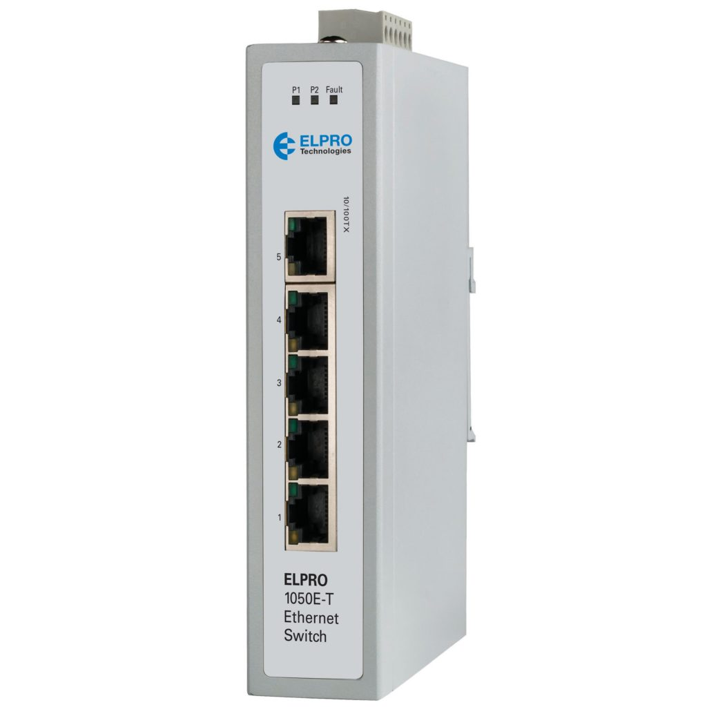 1050E-T 5-PORT UNMANAGED SWITCH