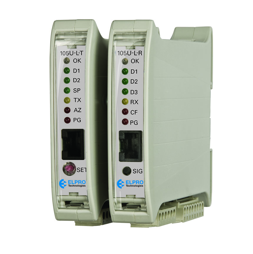 105U-L transmitter & receiver I/O pair