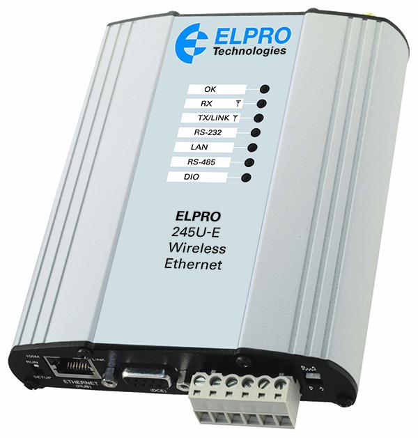 245U-E wireless high-speed ethernet modem