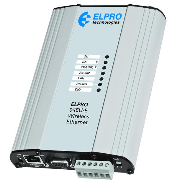 945U-E wireless high-speed, long-range ethernet modem