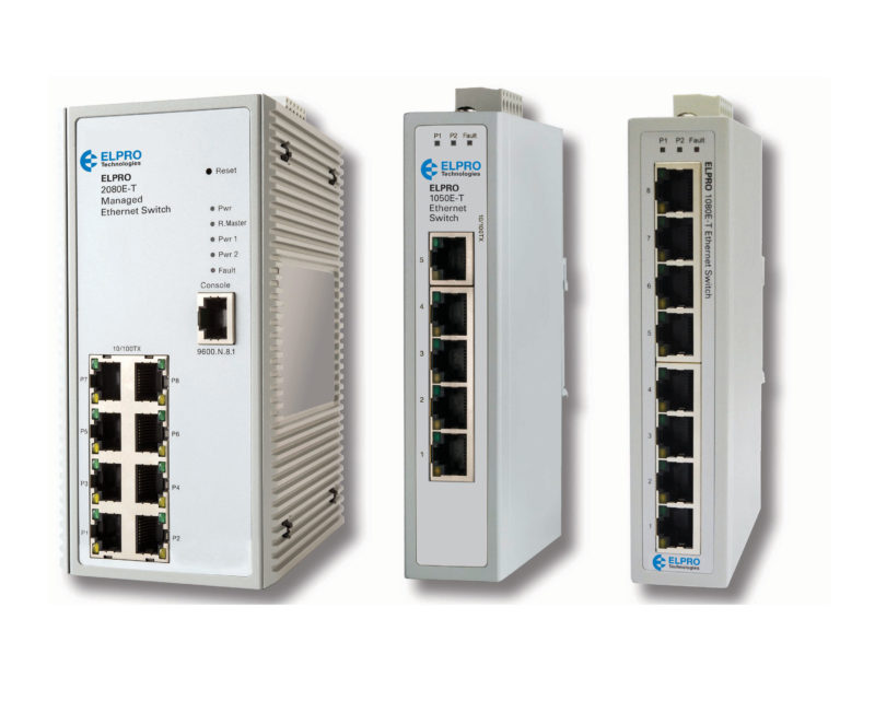 Elpro ethernet switch series