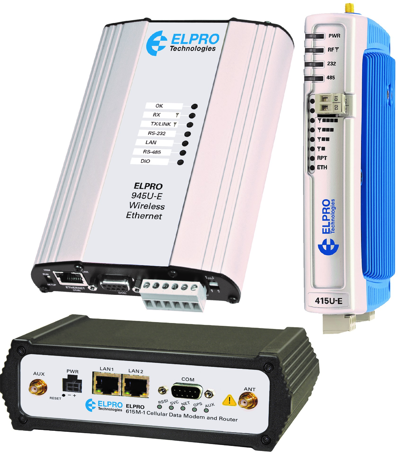 Elpro's Industrial wireless modems