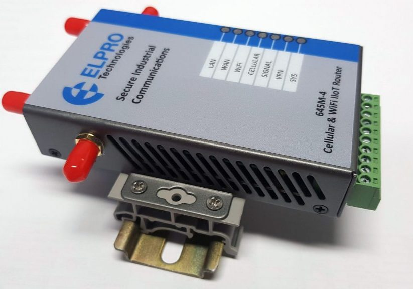 ELPRO 645M-4 Cellular Router for IIoT Applications
